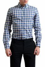 Dsquared2 Men's Multi-Color Plaid Button Down Casual Shirt US S M L XL