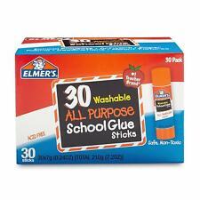 Elmer's All Purpose School Glue Sticks Washable 30 Pack & 60