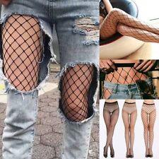 Women Net Fishnet Body Stockings Pattern Pantyhose Tights Breathable Stockings F