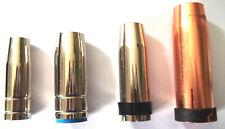 MIG/MAG Gasdüse MB15/MB25/MB24/MB401 konisch steckbar Schutzgasdüsen