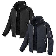 Mens Dandy Hood Raglan Blouson Jumper Casual Jacket Blazer Outwear Coat Top W348