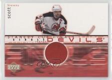 2001 Upper Deck Stanley Cup Finals Jerseys FJ-SS Scott Stevens New Jersey Devils
