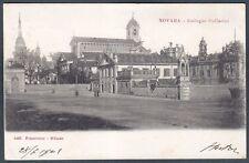 NOVARA CITTÀ 47 Cartolina viaggiata 1901