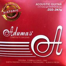 Adamas Akustik Gitarre HISTORIC REISSUE PHOSPHOR BRONZE Saiten SATZ Strings