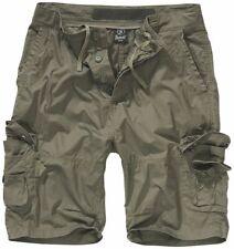BRANDIT Pantaloncini Bermuda uomo militare cargo Trekking TY SHORTS Olive