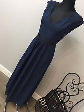 ASOS - Elise Ryan Maxi Dress  Open Lace Back Contrast Waistban RRP £58 (AS-30/4