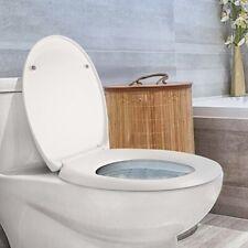 Luxury Slow Soft Close Toilet Seat O U V Type Bathroom Heavy Duty Easy Clean NEW