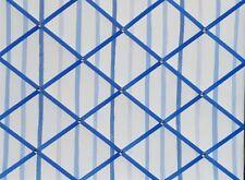 Laura Ashley Painterly Stripe Blue - Large Fabric Notice Board/Memo Board