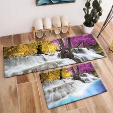 Autumn Forest Stream Landscape Area Rugs Kids Bedroom Carpet Kitchen Floor Mat