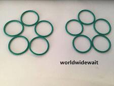 10pcs Industrial O Ring 28/29/30/32/33/34/35mm x 2mm Fluorine Rubber Green