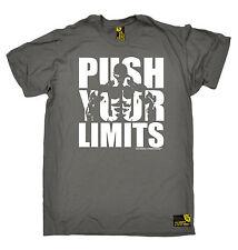 Bodybuilding T-SHIRT Push Your Limits Body Building Gym Training birthday gift