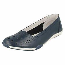 Donna F80205 Scarpe Slip-on di pelle da Down To Earth retail PREZZO