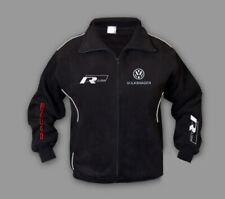Neu Fleece Jacke VW RLine bekleiudng mit gestickte embleme, performance, jacket