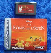 Disney´s König der Löwen Bärenbrüder, Anleitung, Nintendo GameBoy Advance Spiel
