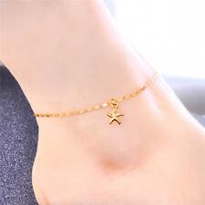 Sandal Ankle Bracelet Foot Chain E& Boho Starfish Beads Sea Turtle Anklet Beach