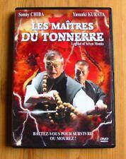 2DVD LES MAITRES DU TONNERRE -Sonny CHIBA / Y. KURATA