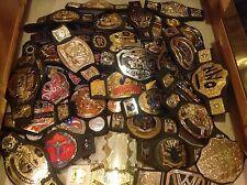 JAKKS WWE WWF Wrestling GÜRTEL US Chmapionship Belt ECW Tag Team Heavyweight lot