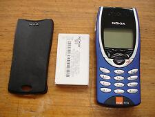 ORIGINALE Nokia 8210 Mobile Sbloccato, Genuine FASCIA, GRADE A, SPEDIZIONE VELOCE