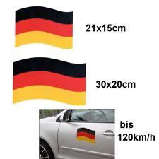 Auto Magnet Deutschland Verwendung bis 120 km/h FAN Artikel 2 Größen zur AUSWAHL