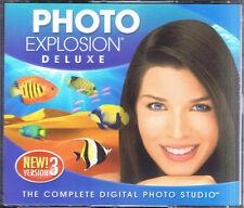 Photo Explosion Deluxe 3.0 (PC, 2006, Nova Development)
