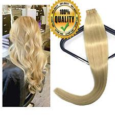 "AAAAA Remy Brazilian Head Tape in 100% Human Hair Extensions 16""-24"" 150G US"