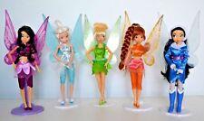 Disney Store Tinkerbell Flutter Wing Fairy Dolls,Silvermist,Vidia,Fawn,Rosetta..