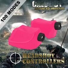New TGC Custom Xbox One Controller LT RT Gloss Pink Trigger Stops + T8 & T6