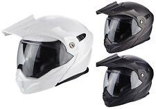 Scorpion ADX 1 Solid Enduro Klapphelm Motorradhelm Offroad Sturzhelm matt
