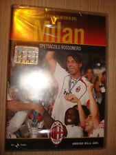 DVD N°1 LA GRANDE STORIA DEL MILAN SPETTACOLO ROSSONERO SEASON 2006-2007 AC