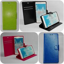 Tasche Leder Schutz Hülle IPhone Huawei Case Etui Cover Wallet Flip Etui