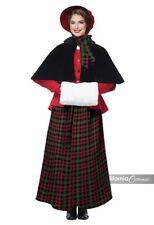 California Costumes Holiday Caroler Adult Womens Christmas Xmas Costume 01515