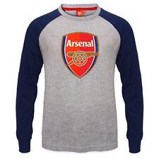 Arsenal Fc oficial fútbol regalo niños Cresta Camiseta Larga Manga Raglán