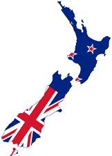 "Auto Aufkleber Neuseeland ""Aotearoa"" New Zealand Vinyl Sticker Decal konturg."