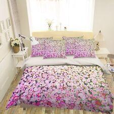 3D Romantic Rose 46 Bed Pillowcases Quilt Duvet Cover Set Single Queen King AU