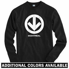 Montreal Metro Long Sleeve T-shirt LS - Canadiens Hockey YUL Train - Men / Youth