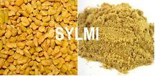 Organic PREMIUM FENUGREEK Seed Whole/Ground Methi Kasoori 1 2 4 5 16 32 oz/Lb/Kg