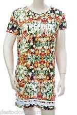 ELEVEN PARIS FREEDOM Robe tee shirt femme SLORANGE RI W 15S2LD03