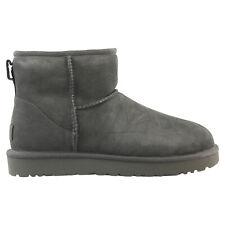 Ugg Classic Mini II Boot Winterschuhe Schuhe Stiefel Damen Grau 1016222 GREY