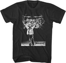 MEGADETH - Drums Photo - T SHIRT S-M-L-XL-2XL Brand New Official T Shirt