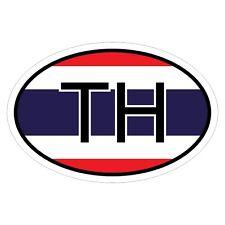 Thailand TH - csd0212 Autoaufkleber Sticker Aufkleber KFZ Flagge