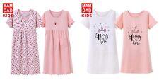 Girls Kids summer Pyjamas short sleeve Nightwear Cotton Night Dress Nightie
