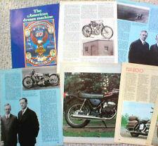 1970's HARLEY DAVIDSON MOTORCYCLE History Article / Photo's: FLH, HOG