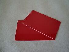 100 farbige Plastikkarten Blankokarten PVC Waschkarten Kundenkarte blanko