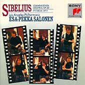 Sibelius: Lemminkainen Legends, Op 22; En Saga, Op 9 (CD, PROMO, Sony) Salonen