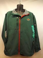 NEW Minnesota Wild MENS Adult Size XL-2XL Nice Hard Shell Full Zip Green Jacket