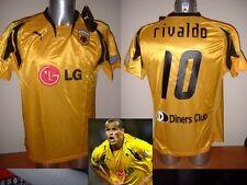 L'AEK Athènes Rivaldo PUMA Bnwt Brésil Grèce S M L XL chemise jersey football soccer