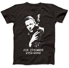 Joe Strummer OMAGGIO T-shirt 100% Cotone Premium London Calling