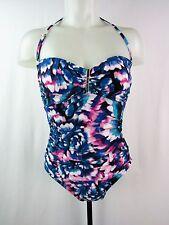 Calvin Klein Women's Solid Bar Bandeau 1 PC Swim Suit Various Colors/Sizes SS52