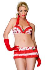 CHERRY Fancy Costume 8 10 12 S M - Halloween Leg Avenue Womens Playful Sexy