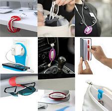 Bobino Cord Wrap Key Clip Glasses Case Phone Holder Slim Pen Cable Tidy Lifehack